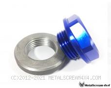 Aluminum Filler Cap & Steel Bung Assembly