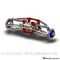 ชุดปีกนกหน้ารถแข่ง MS4/V2.0