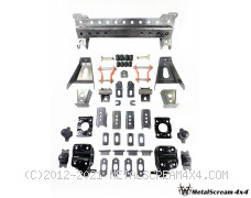 Solid Axle Swap Kit for Isuzu D-max (2007-2011)