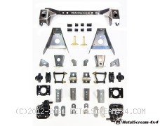 Solid Axle Swap Kit for Isuzu Rodeo 4WD, TFR 2WD