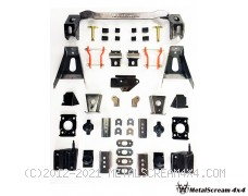 Solid Axle Swap Kit for Mitsubishi Strada 2WD, 4WD