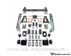 Solid Axle Swap Kit for Mitsubishi Triton 2WD, 4WD