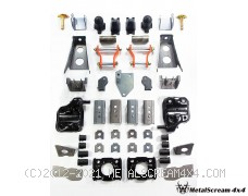 "Solid Axle Swap Kit for Toyota Hilux (Maximum fit 33"" tires)"